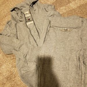 Twisted Heart Sweat suit Large